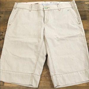 Anthropologie Bermuda shorts